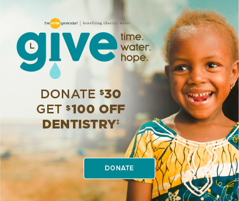 Donate $30, Get $100 Off Dentistry - West Jordan Modern Dentistry and Orthodontics